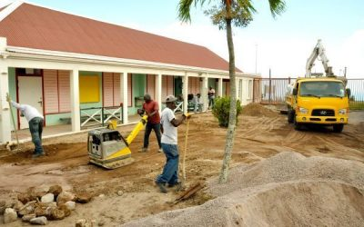 Sacred Heart School is being renovated