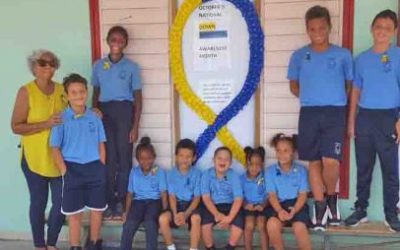 Sacred Heart school supports National Down Syndrome Awareness Month.